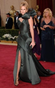 charlize theron bow