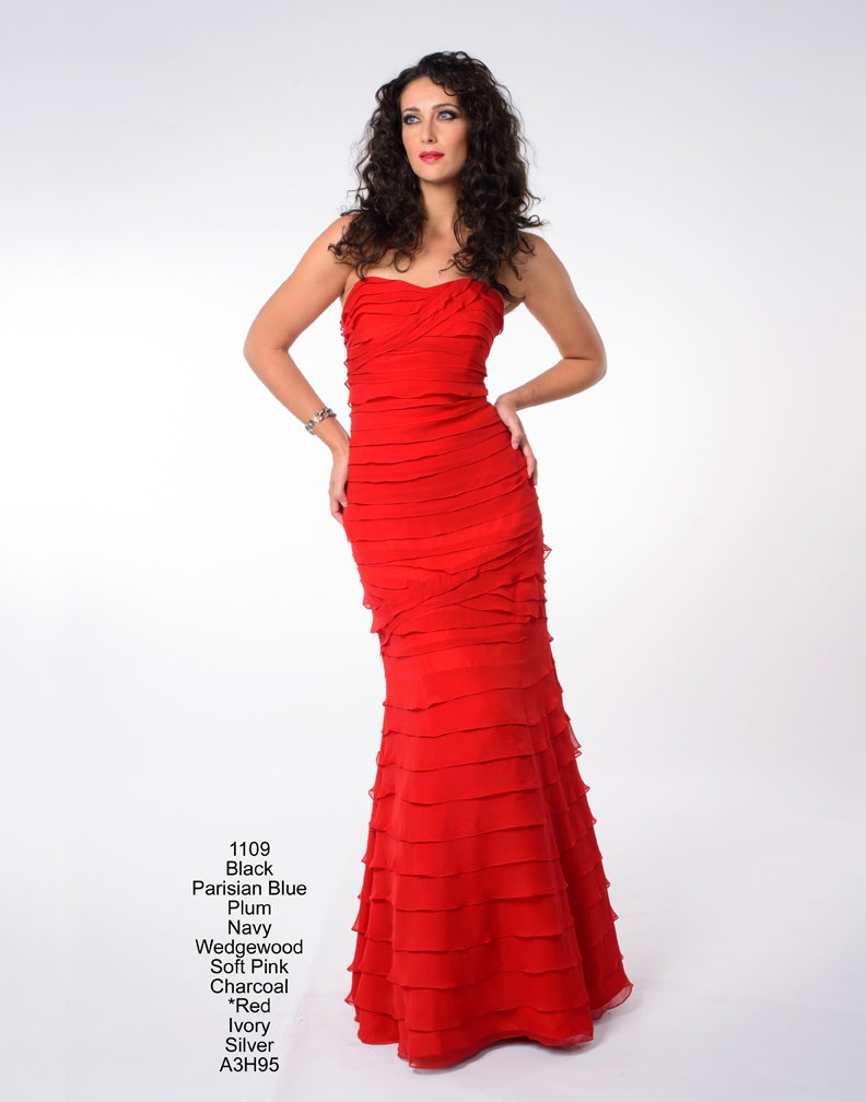 Vogue\'s Latest Summer Trend: Red - Evening dresses | Mother of the ...